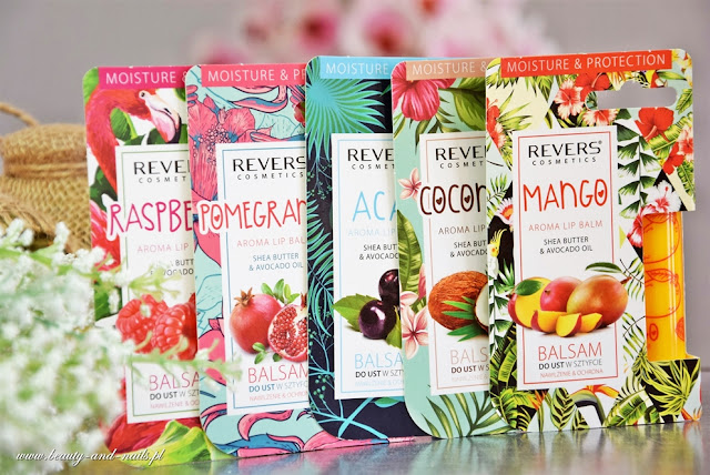 Pomadki ochronne - Revers Cosmetics.