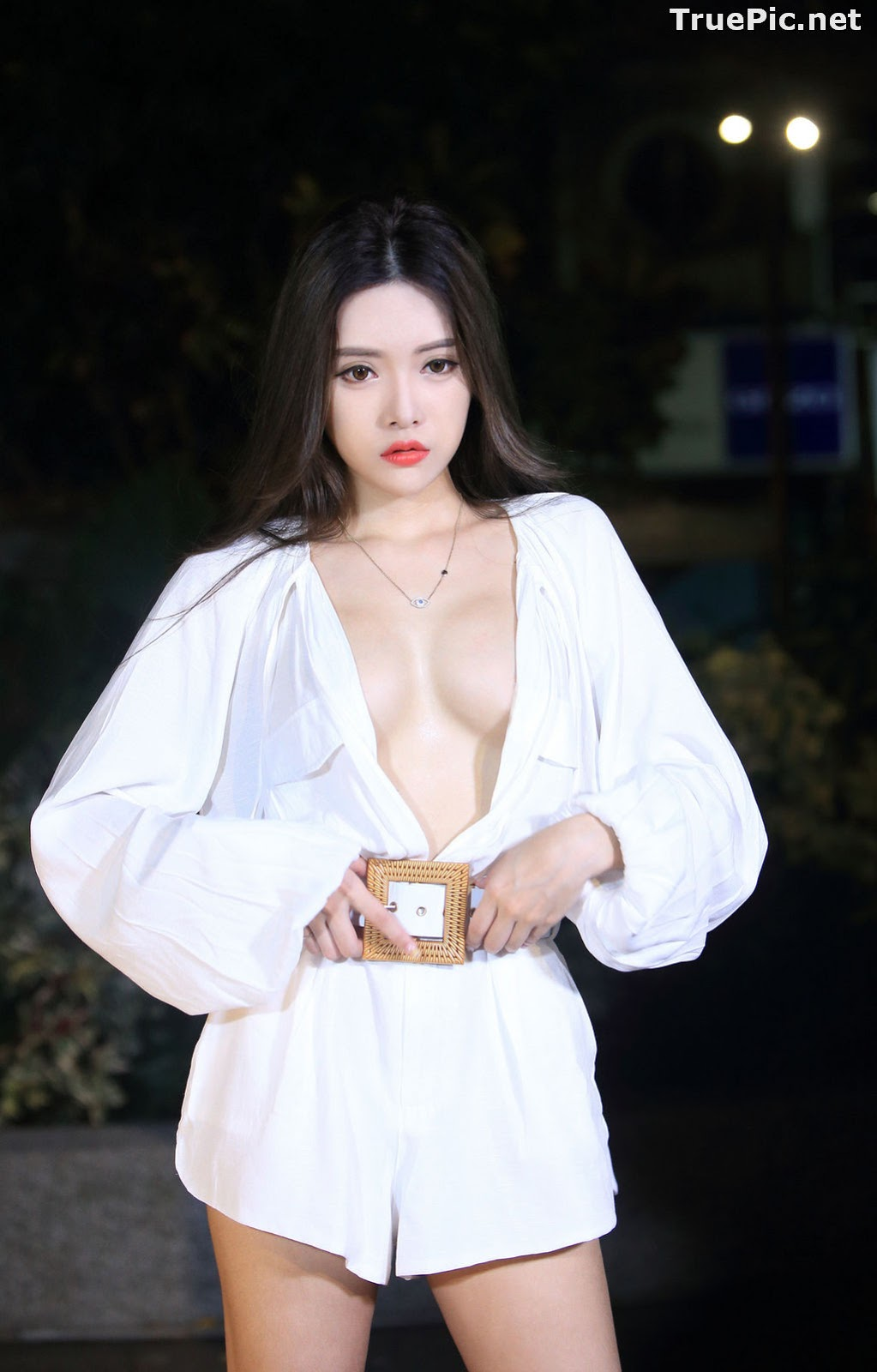 Image Taiwanese Model – 莊舒潔 (ViVi) – Sexy and Pure Baby In Night - TruePic.net - Picture-49