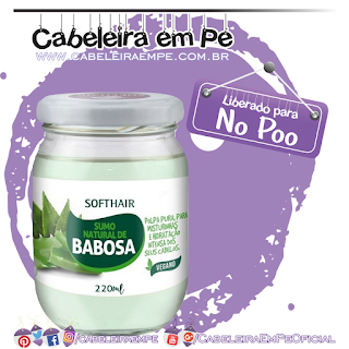 Sumo Natural de Babosa - Soft Hair (No Poo)