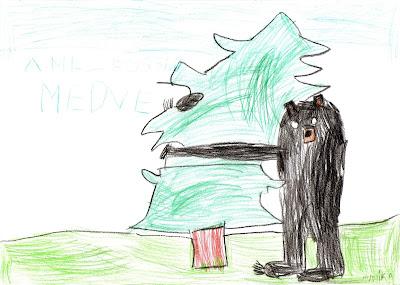 Nicholas Oldland, gyermekirodalom, A melegszívű medve, erdőirtás, környezetvédelem,