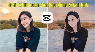 Cara Edit Foto Jadi Anime Di Aplikasi Capcut