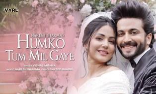 Humko Tum Mil Gaye Lyrics - Vishal Mishra | A1lyrics