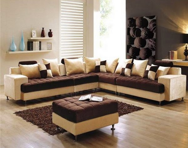 For A Small Living Room Definitely We Could Not Put Many Furniture On This Because It Influence To The Sizing White Concept Is Choice