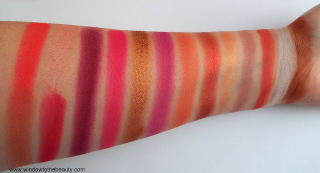 RevolutionRed Alert swatches and review