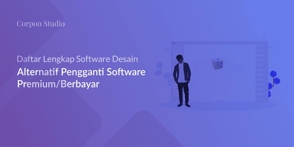Software Aplikasi Desain Alternatif Free - Gratis