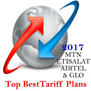 Top 2017 MTN  Airtel Glo Etisalat Tariff Plans with free Migration Codes