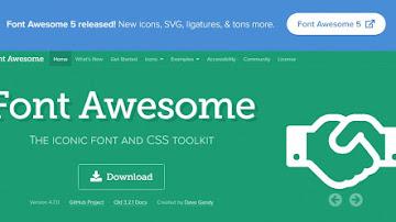 اضافة مكتبة font awesome لمدونة بلوجر وماهي مميزاتها