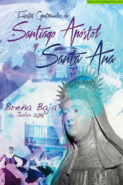 Fiestas de Santiago Apostol y Santa Ana 2018 - Programa de Actos