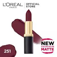 https://www.lazada.com.my/products/loreal-paris-color-riche-matte-lipstick-i361896852-s513864662.html?spm=a2o4k.13389923.6561575850.4.245a71e6VMQ03M.245a71e6VMQ03M&search=1&mp=1&scm=1003.4.icms-zebra-101027632-4885836.ITEM_361896852_4735620