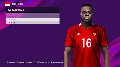 PES 2020 Faces Viktor Igbonefo by PESFaceThai