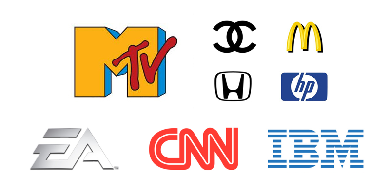 Contoh Logo Letter Mark