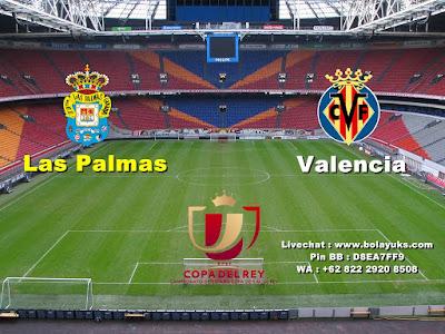Prediksi Bola Copa Del Rey Las Palmas Versus Valencia 04 Januari 2018