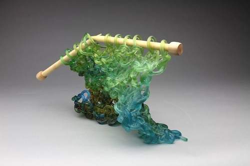 12-Carol-Milne-Glass-Knitted-Sculptures-www-designstack-co
