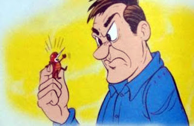 fabula la pulga y el hombre