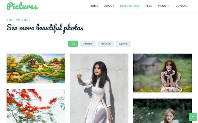 Photo Blogspot Template