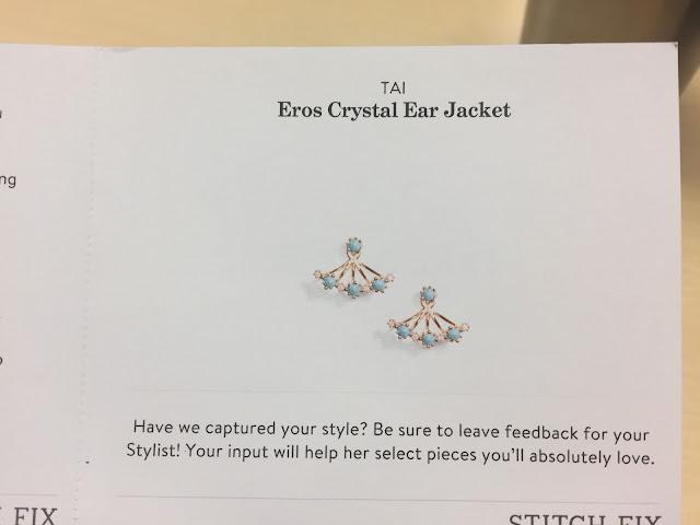 Stitch Fix: Tai | Eros Crystal Ear Jacket