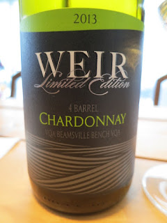 Mike Weir 4 Barrel Chardonnay 2014 - VQA Beamsville Bench, Niagara Peninsula, Ontario, Canada (89 pts)