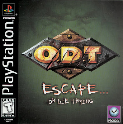descargar O.D.T escape or die trying psx por mega