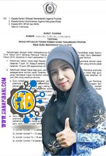 Revisi Juknis Pembayaran Tunjangan Profesi Guru Madrasah Tahun 2018