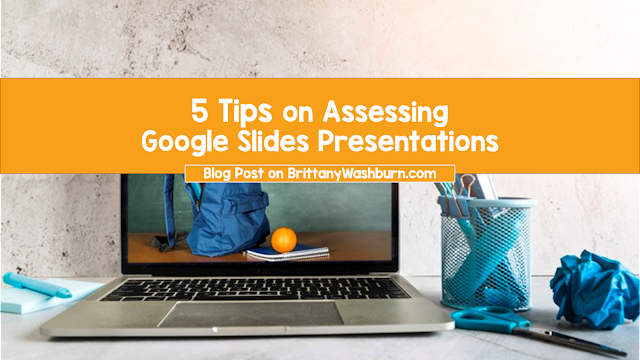 Google Slides is free, easy to use, and a great place to start for your students to showcase their research, learning, and creativity. Even if you use another slide presentation application, use these 5 tips to cement your rubric!