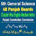 5th Science Punjab Board English Medium Notes