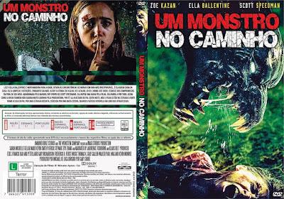 Filme Um Monstro No Caminho (The Monster) DVD Capa