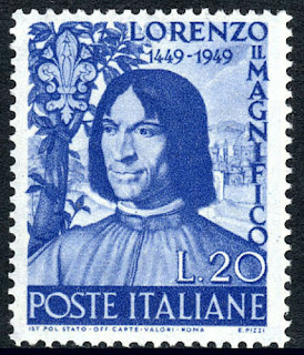 Lorenzo de Medici, Italian statesman, 500th birth anniv. 1949