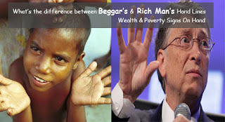 What's the difference between rich and poor person