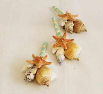 Starfish boutonniere idea-boutonniere alternatives-wedding ideas-wedding theme-Weddings by K'Mich