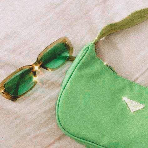 Parada Green Bag