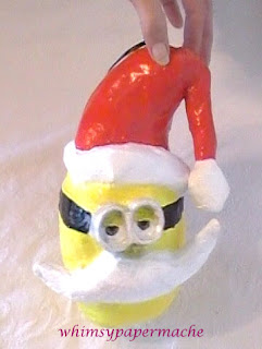 Minion Bob Santa Ornament