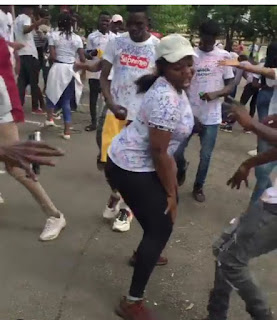 Video: UNILORIN Student Dances 'Soapy' By Naira Marley After Her Final Exam, Signs Out In Style 7
