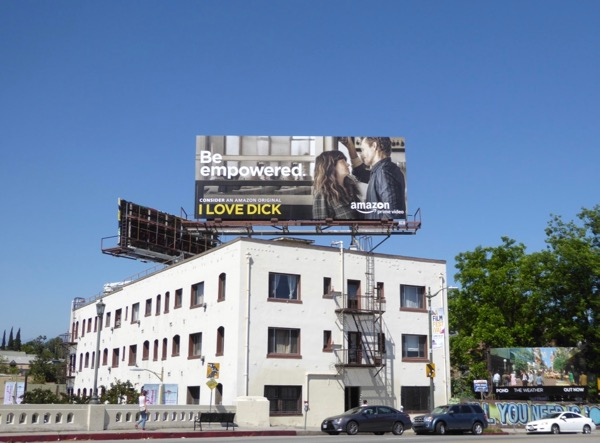 I Love Dick season 1 Be empowered Emmy FYC billboard