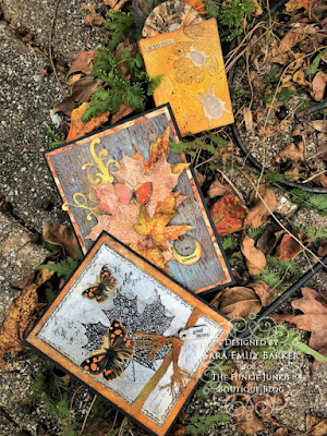 Sara Emily Barker https://frillyandfunkie.blogspot.com/2019/10/saturday-showcase-stampers-anonymous.html Fall Card Saturday Showcase Pressed Foliage 8