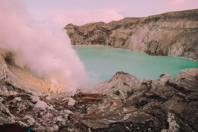 Gunung Ijen, Blue Fire, Malang