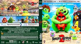 Caratulas Mountain Angry Birds 2 La Pelicula The Angry Birds