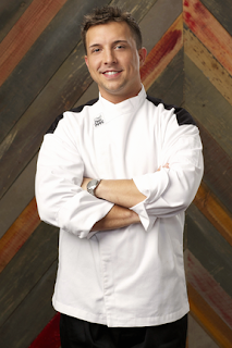 adam livow was an amusement park chef from freehold new jersey he was eliminated in hells kitchen episode 8 due to his problems on the meat station - Hells Kitchen Season 14