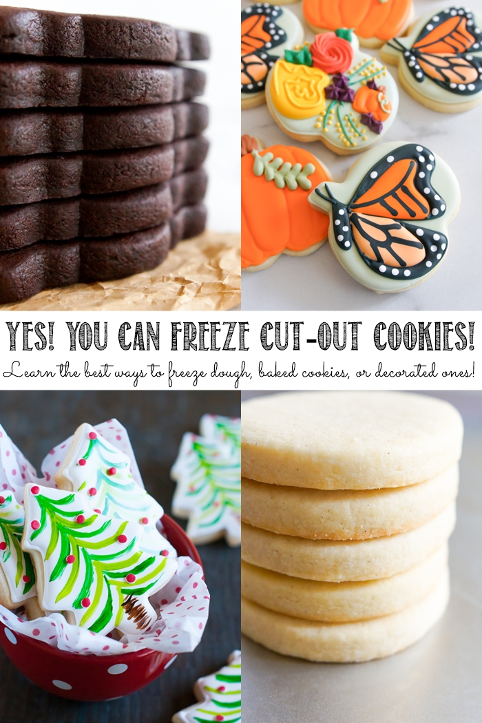 the best ways to freeze cookie, dough, baked cookies, and decorated cookies