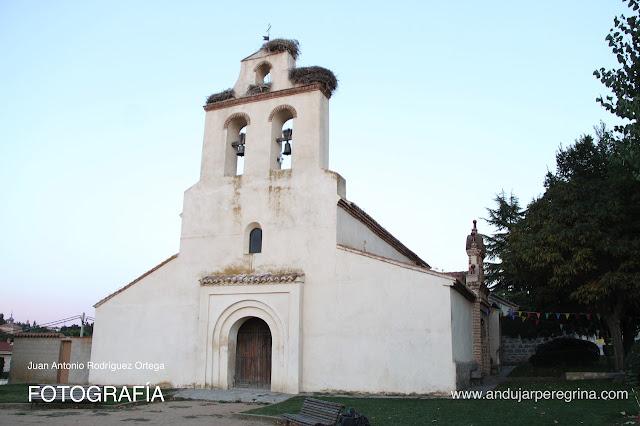 Fachada ermita Virgen de la Cabeza Ávila