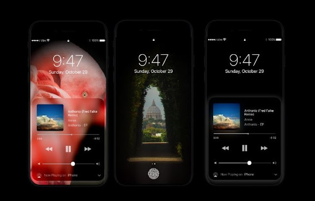 Apple's new 5.8 inch iPhone 8 will feature advanced organic light-emitting diode(AMOLED) screens that have slightly curved edges, to be solely provided by Samsung Electronics.