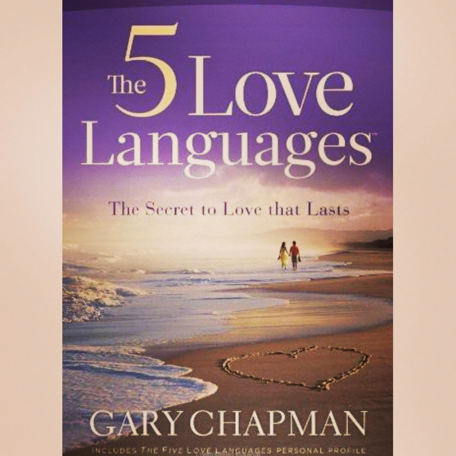 Five Love Languages; A Realization