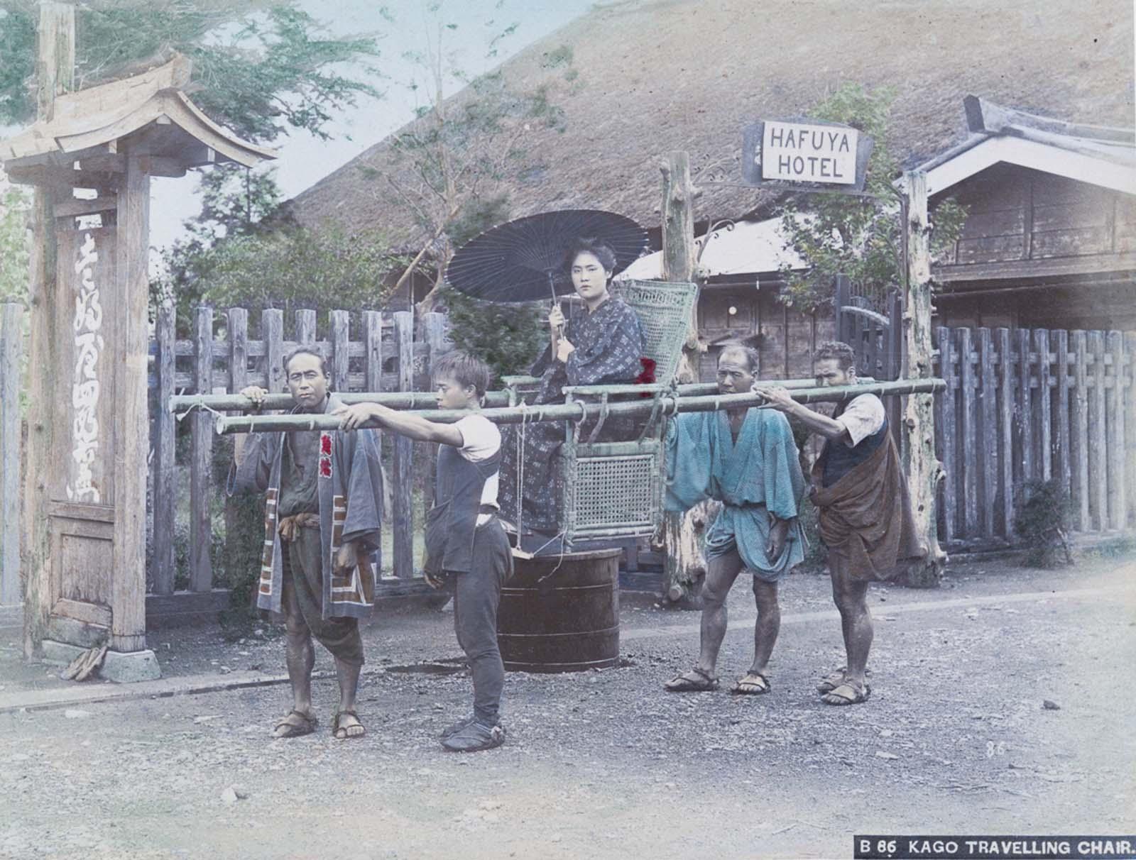 Raras fotografías coloreadas a mano de la vida cotidiana en el Japón Meiji, década de 1890