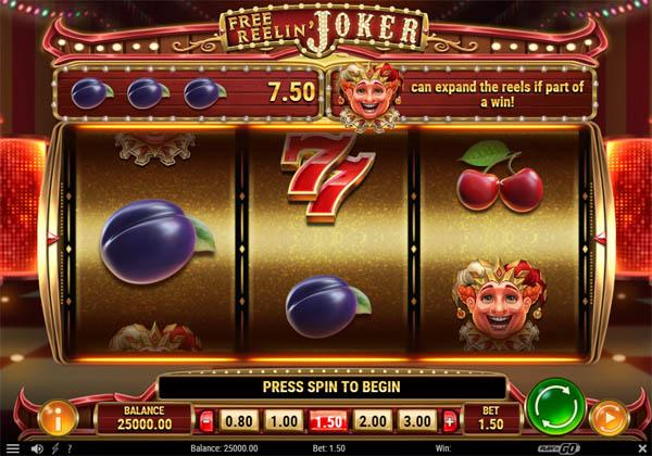 Main Gratis Slot Indonesia - Free Reelin' Joker Play N GO