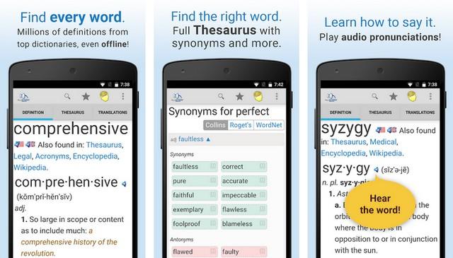 أفضل تطبيق قاموس للاندرويد