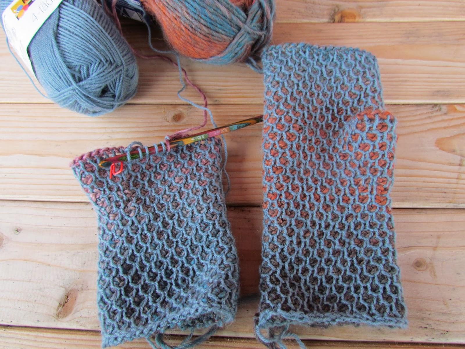 kotkarankki: Tunisian Crochet and playing with yarn