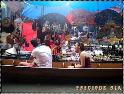 Damnoen Saduak Floating Market, Bangkok Thailand