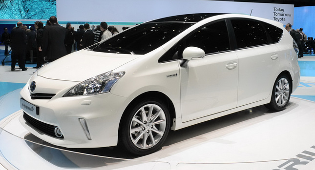 The All New Prius V Five Seater Minivan Isn T Due To Arrive In U S Showrooms Until This Fall Yet Toyota Is Already Looking Into Development Of A
