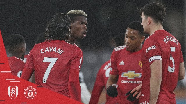 Fulham vs Manchester United 1-2 Highlights