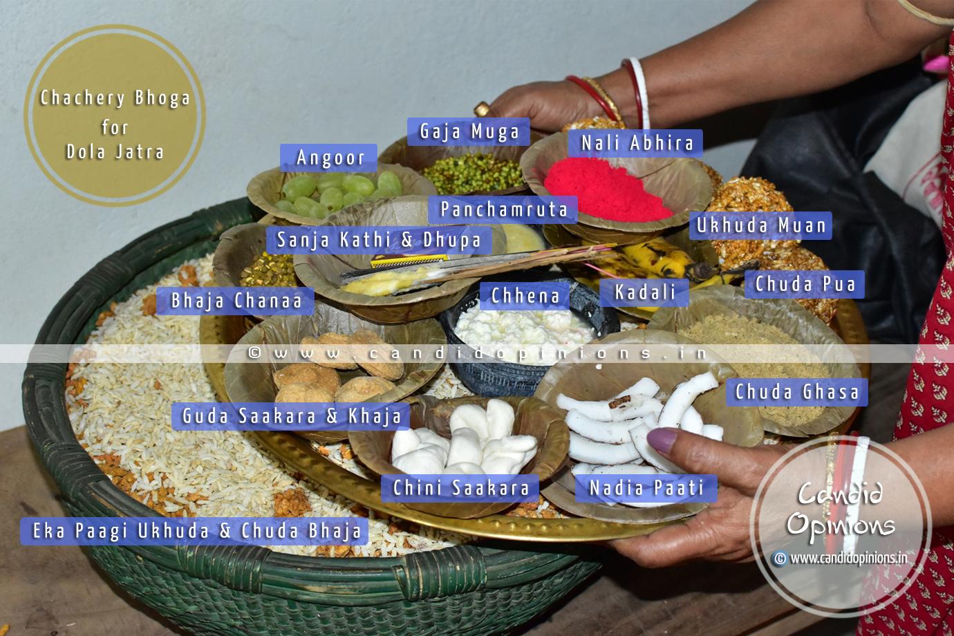 Chachery Bhoga During Dola Jatra