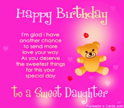 Happy Birthday Quotes For Daughter: Birthday Daughter Quotes